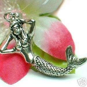 925 STERLING SILVER MERMAID (MOVABLE) CHARM / PENDANT