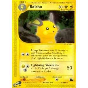Raichu   E Skyridge   27 [Toy]: Toys & Games