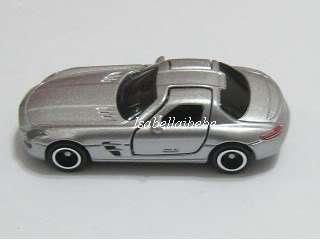 Tomica #91 Mercedes Benz SLS AMG 1/65 Diecast Car Tomy