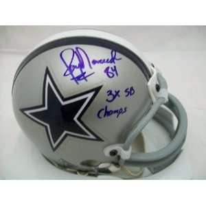 Jay Novacek Autographed Dallas Cowboys Mini Helmet GTSM