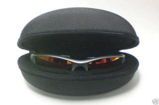 OAKLEY FLAK JACKET SILVER with FIRE 03 884 SUNGLASSES