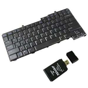 Laptop Notebook Keyboard for DELL Inspiron B120 B130 1300 with USB 2.0