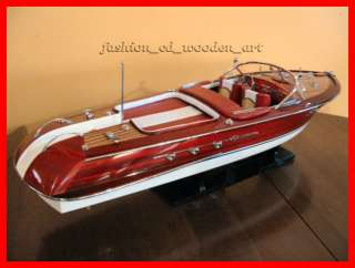 beautiful collection handcrafted model wooden boat brand new in box