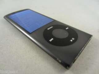 Black Apple iPod Nano 5th Gen 16GB A1320  Player   WORKS GREAT