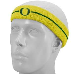 Nike Oregon Ducks Gold Game On Sweatband: Sports