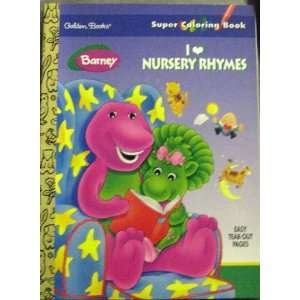 Rhymes (Super Colouring Books) (9780307085337) Golden Books Books