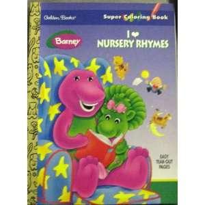 Rhymes (Super Colouring Books) (9780307085337): Golden Books: Books