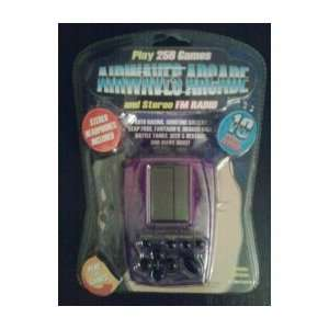 Airwaves Arcade Handheld Game Play 256 Games and Stereo Fm