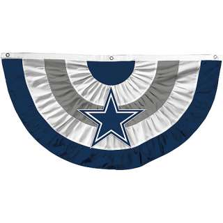 Dallas Cowboys Garden Furnishings NFL Dallas Cowboys Bunting Banner