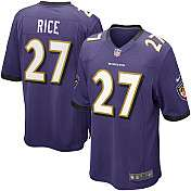 Mens Nike Baltimore Ravens Ray Rice Game Team Color Jersey