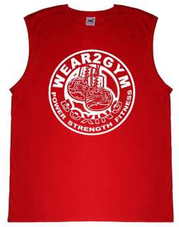 BOXING or MMA Fighter Training Vest Tank Top Vest S XXL