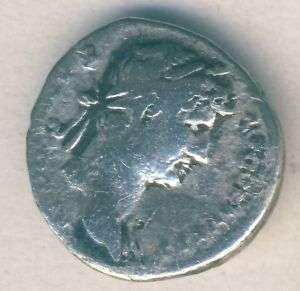 Roman Republic/Empire HADRIANUS 117 138 Denar Ag
