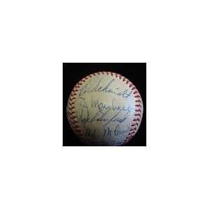 1960 San Francisco Giants Team Signed Baseball