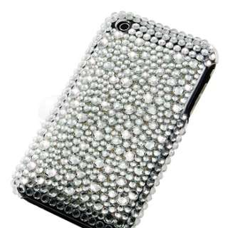 new generic snap on case compatible with apple iphone 3g 3gs silver