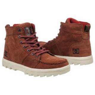 Athletics DC Shoes Mens Woodland Brown Shoes