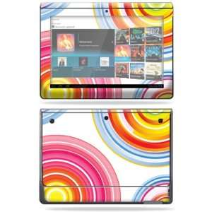 Vinyl Skin Decal Cover for Sony Tablet S Lollipop Swirls Electronics