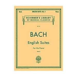 Hal Leonard Bach English Suites Piano Solo Musical