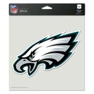 Philadelphia Eagles Team Logo Die Cut Decal 8 x 8 (Colored)