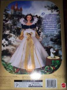 Disney Snow White and the Seven Dwarfs Barbie Doll New