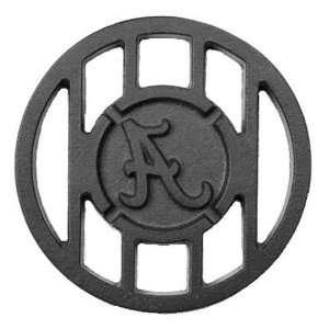 Alabama Crimson Tide 5 1/2 Round Team Logo Grill Topper