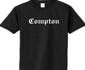 Compton t Shirt NWA Ice Cube Easy E Dr. Dre California