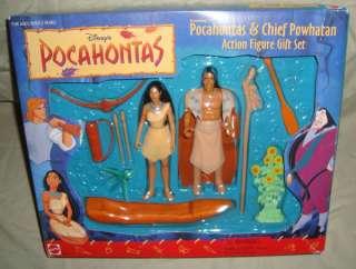 Disney Pocahontas Chief Powhatan Action Figure Playset