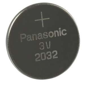 Panasonic CR2032 Lithium 3V Coin Cell Battery   DL2032