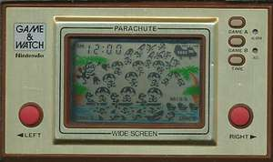 USED Nintendo Game & Watch PARACHUTE JAPAN GW G and W import Japanese