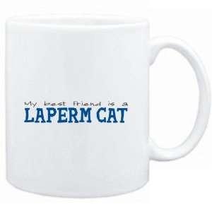 Mug White  My best friend is a LaPerm  Cats  Sports