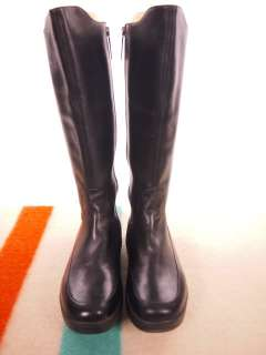 MBT Womens Knee high Black Leather Walking Boot 40(1/3) US 9.5