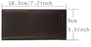 Mens fashion high quality genuine leather long Wallet fish scales
