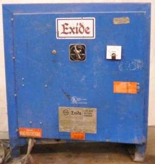 EXIDE LEAD ACID BATTERY CHARGER MODEL: NPC 12 3 850L