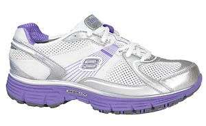 Womens Skechers Tone ups Fitness   Ready Set Lace Up Sneakers 11751