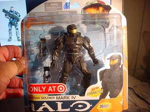 HALO WARS SPARTAN SOLDIER MARK IV TARGET EXCLUSIVE SER#8 ACTION FIGURE