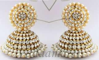 NEW Jhumka Earrings Indian Ear Extensions Bollywood Jhumki Jhumkas
