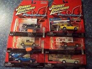 Johnny Lightning 164 Lot of 6 different Pontiac Firebird Trans am
