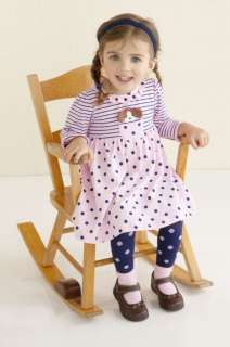 NWT Le Top My Best Friend Fall Dress Tights 12 Months