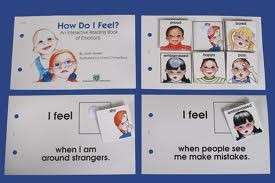 How Do I Feel? Emotions Visual Interactive Book Autism