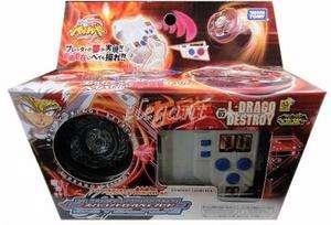 TAKARA TOMY Super Control Beyblade Starter L Drago Destroy BBC02