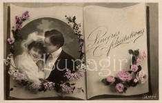 VICTORIAN ROMANCE vintage images CD photos couples lovers postcards