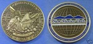 The Great Seal of the State of New Mexico 1912 COIN