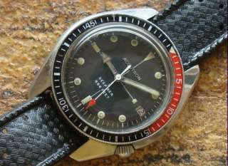Vintage Bulova Accutron Diver Deep Sea 666 Watch Cal. 2181 Running