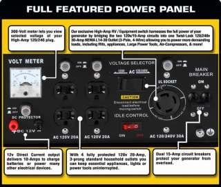 DuroMax XP8500E 8500 Watt Portable Electric Start Generator