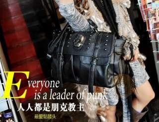 BLACK & BROWN & Pink Japan Kera Shop Punk Rock SKULL HAND Shoulder BAG