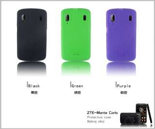 SiKai Silicone skin cover for ZTE Skate G1315 Orange Monte Carlo case
