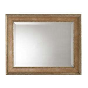 Martha Stewart Living Lucerne 30 in. x 24 in. Framed Mirror in Antique
