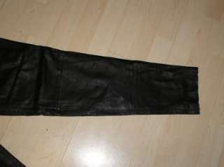 Davidson Genuine Leather Riding Pants Womens 34/6W Motorcycle NEW