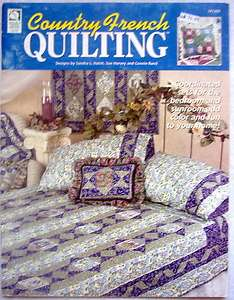 White Birches COUNTRY FRENCH QUILT Pattern Book   2002