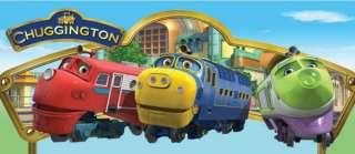 CHUGGINGTON Trains Trolley Suitcase Bag Big Holiday NEW