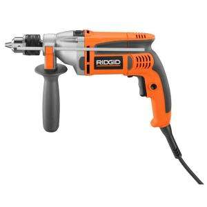 RIDGID Heavy Duty 1/2 in. Corded VSR Hammer Drill R5013 at The Home
